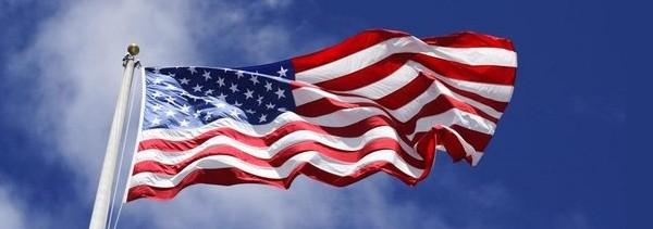 Американский флаг. Американские лотереи