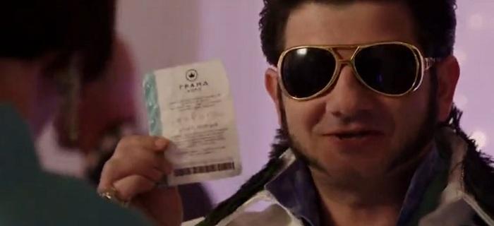 Кадр из фильма Билет на Вегас