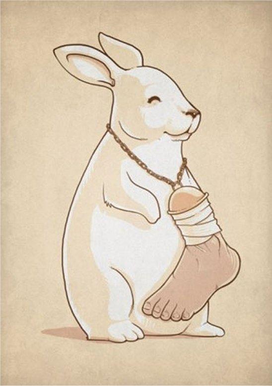 амулет кроличья лапка купить