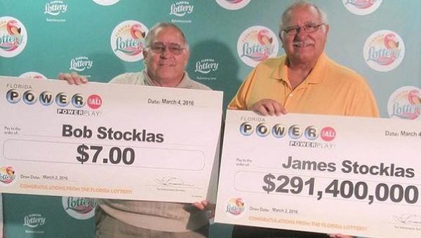 Победители лотереи PowerBall